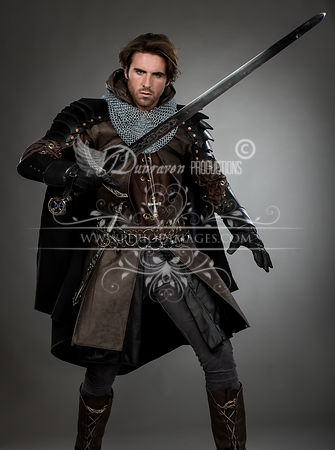 Medieval Knight with Sword