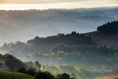 Sunrise in Toscane