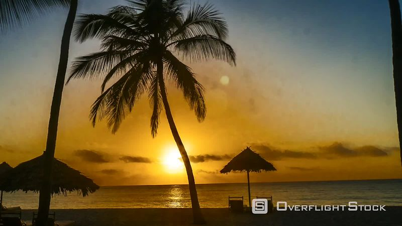 Time-lapse at Diani Beach Kenya