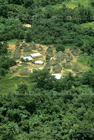 Kpelle Village in Liberia Africa