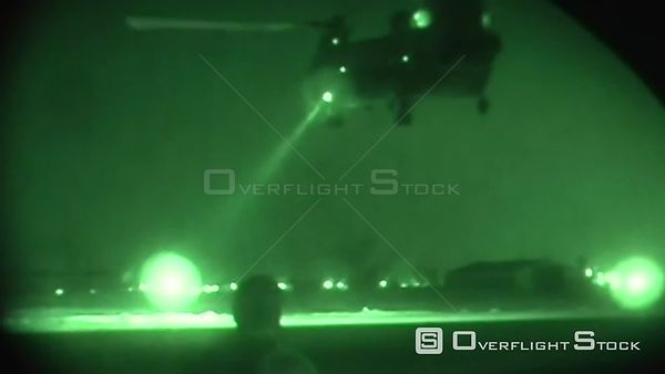 Helicopter patrol in Iraq.