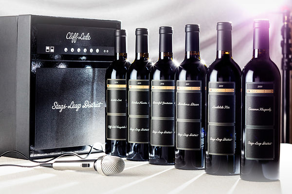 Elevated wine brand photography in Napa Valley for Cliff Lede Vineyards - Jason Tinacci