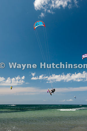 Hutchinson Photography Farm Images Kite Surfing In The
