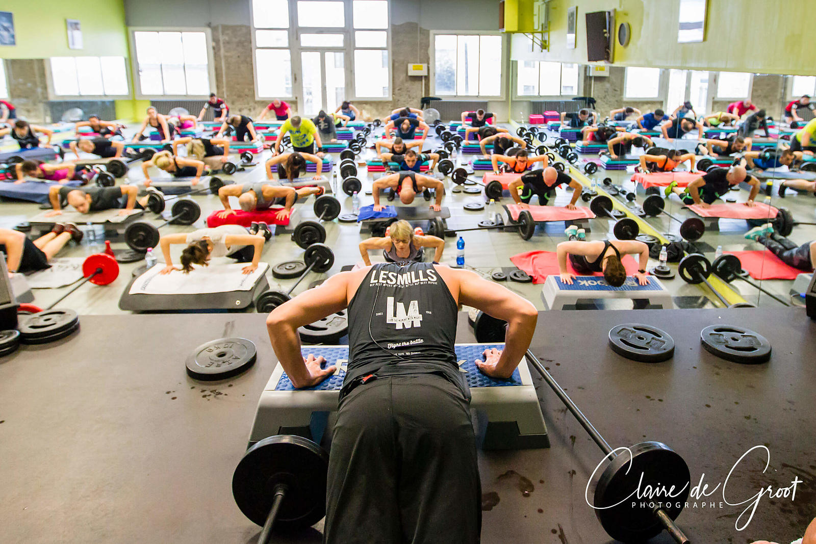 Fitness Class in a gym