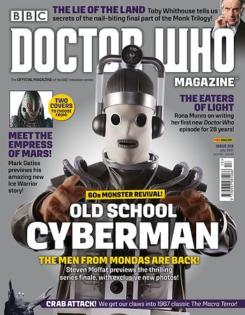 Doctor Who Magazine cover photography, Series 10,