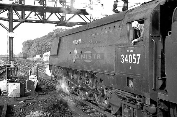 Steam loco BB 34057 Southampton