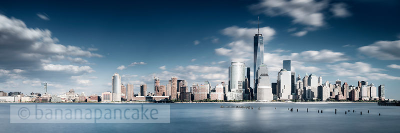 The Lower Manhattan skyline from New JerseyBP4486