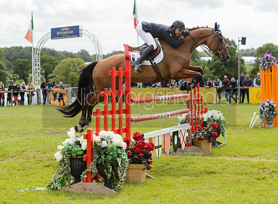 Francois Lemiere and TIM DE LA LANDE - Bramham International Horse Trials, June 2017
