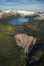 Garibaldi Lake and Glacier Near Whistler BC Canada