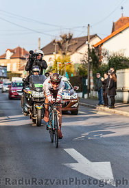 The Cyclist Jean-Christophe Péraud- Paris Nice 2013 Prologue in Houilles