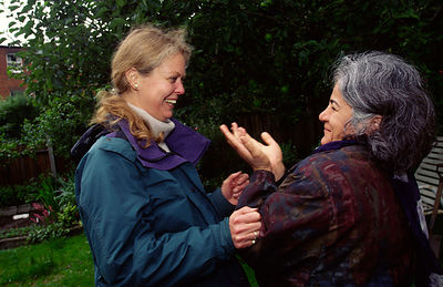 Jenny Gut, the therapist at the Natural Growth Project's garden therapy centre