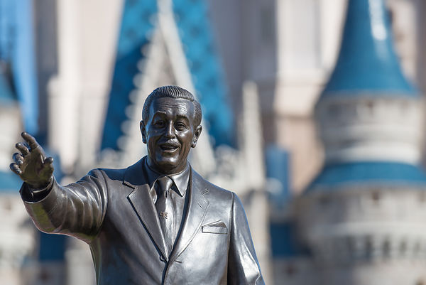 Walt Disney Statue at Magic Kingdom
