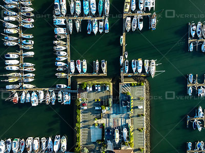 Boats in  Manly Harbour Marina  QLD Australia
