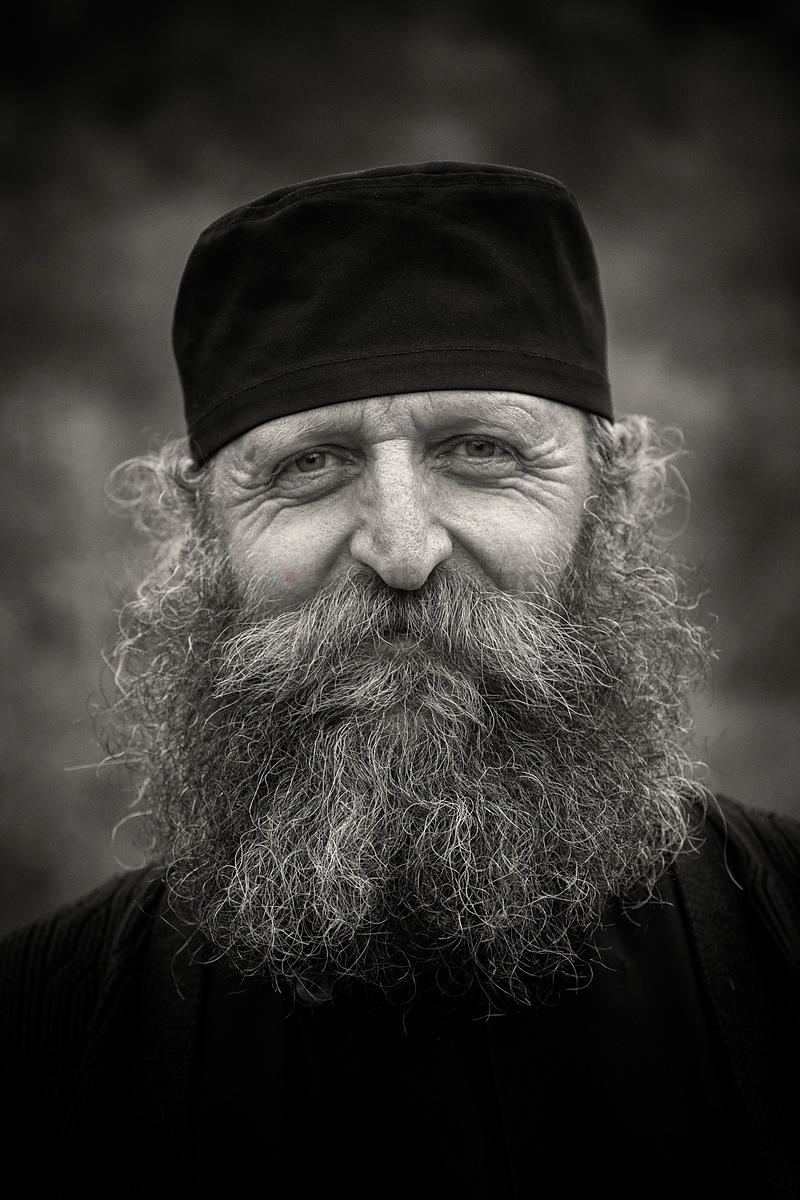 Portrait of an Orthodox Monk
