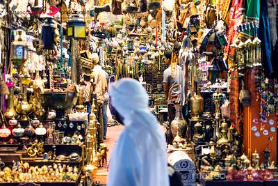 The old souk, Muscat, Oman