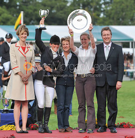 The Prizegiving - Land Rover Burghley Horse Trials 2010