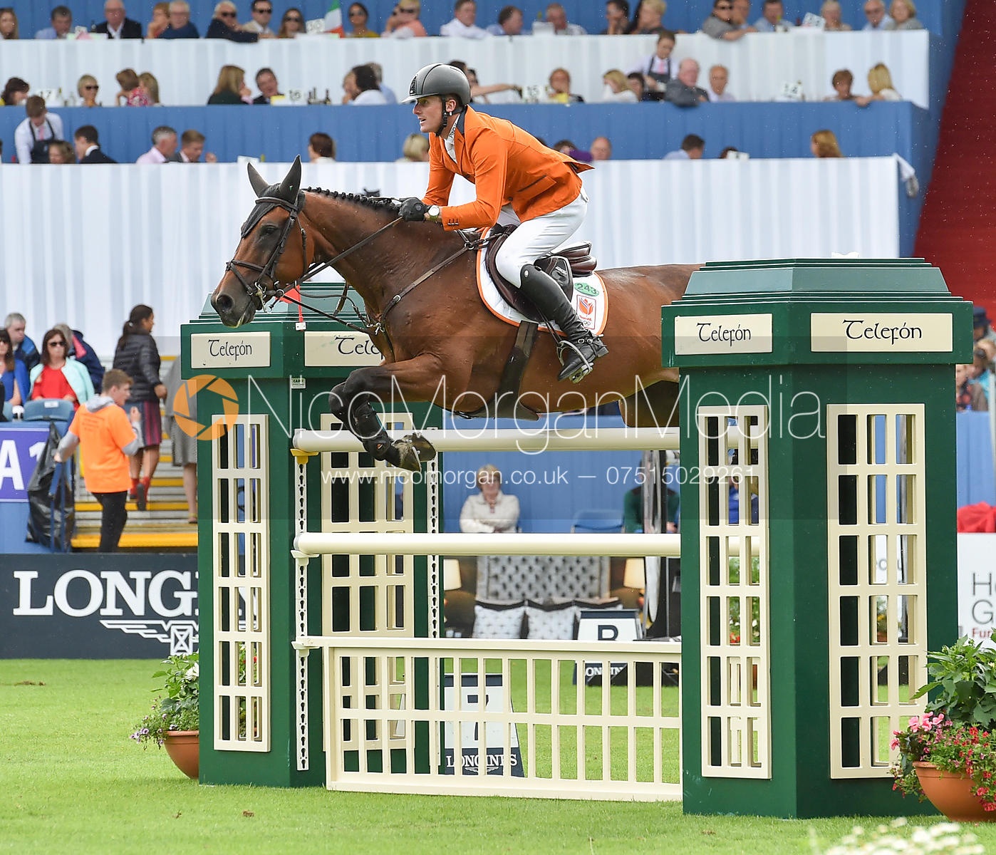 Michael Greeve and WHITNEY BB  - FEI Nations Cup, Dublin Horse Show 2017