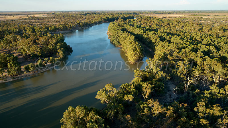 Murray River downstream of Wentworth.