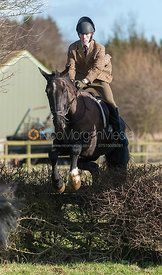 A follower jumping the first hedge