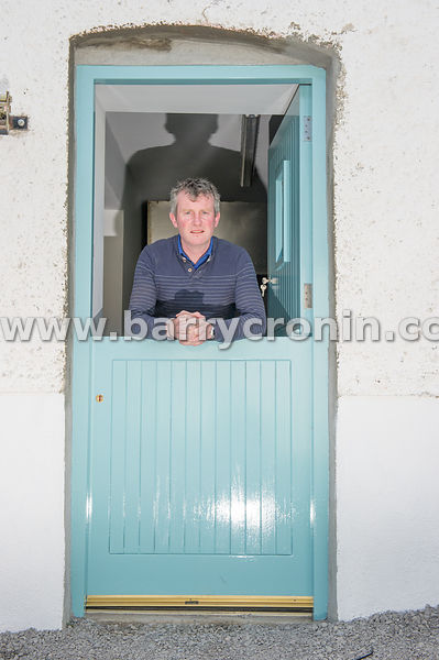 5th September, 2015.Tyrrellspass, County Westmeath. Pictured is Peter Deegan, engineer and farmer of The Grocery.Photo:Barry ...