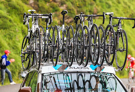 Kuota Bikes of AG2R La Mondiale Team - Tour de France 2011