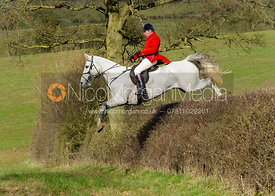 Richard Hunnisett MFH - The Cottesmore Hunt at Ladywood