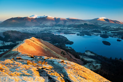 Keswick and Derwent Water from Catbells - BP3375