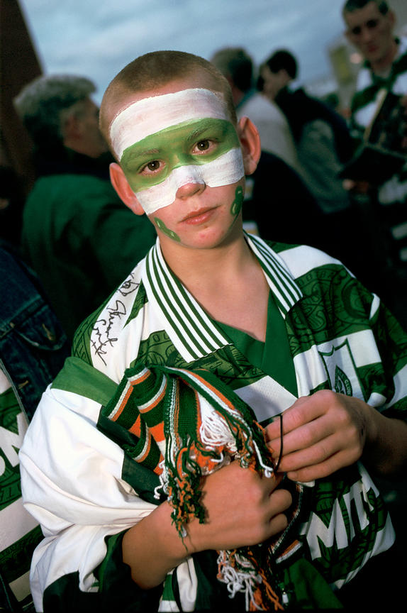 Celtic football fan
