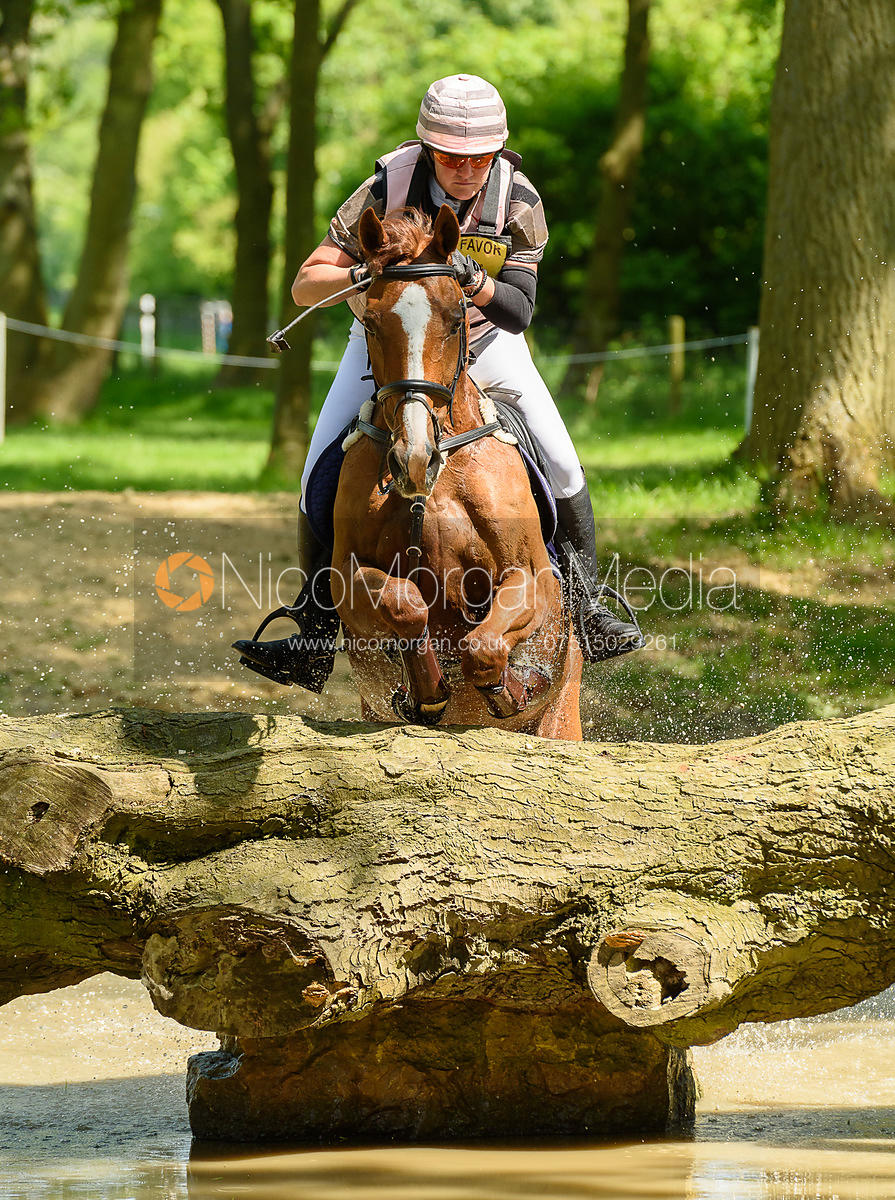 Jane Riley and LOMOTO, Fairfax & Favor Rockingham Horse Trials 2018