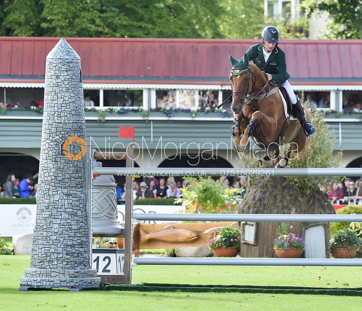 Denis Lynch and RMF ECHO  - FEI Nations Cup, Dublin Horse Show 2017