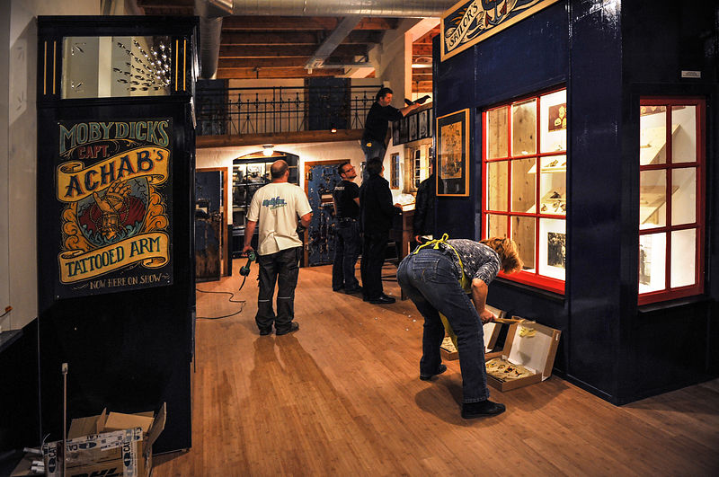 Inauguration of the Tattoo Museum in Amsterdam