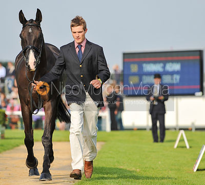 Daniel Sibley and Tarmac Adam - 2nd Inspection - Burghley 2010
