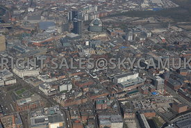 Manchester and the Northern Quarter development area of Manchester