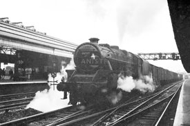 Steam loco Black 5 44735 Preston