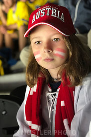 Austrian ice hockey fan