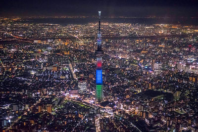 Tokyo Skytree Needle Tower Tallest Structure in Japan.