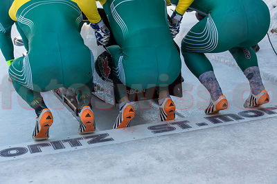 Bobsleigh Olympia Bob Run St.Moritz photos