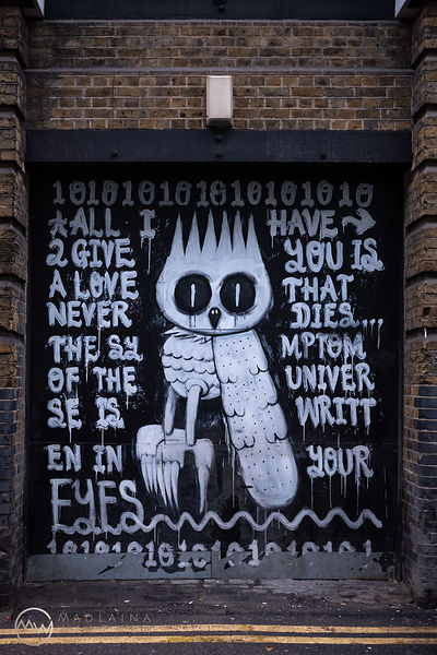Shoreditch, London.