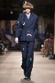 London Fashion Week Men's Autumn Winter 2018 - Charles Jeffrey Loverboy