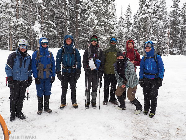 CMC Basic Snow Class at St Mary's Glacier