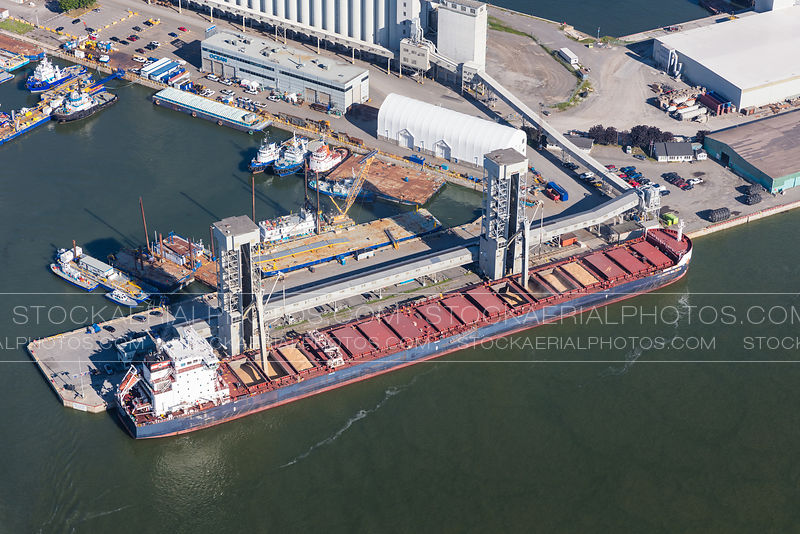 Bulk Carrier, Port of Quebec