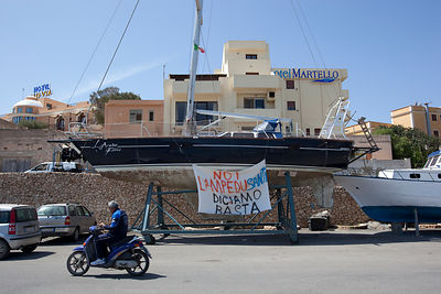 Illegal Immigration in Lampedusa