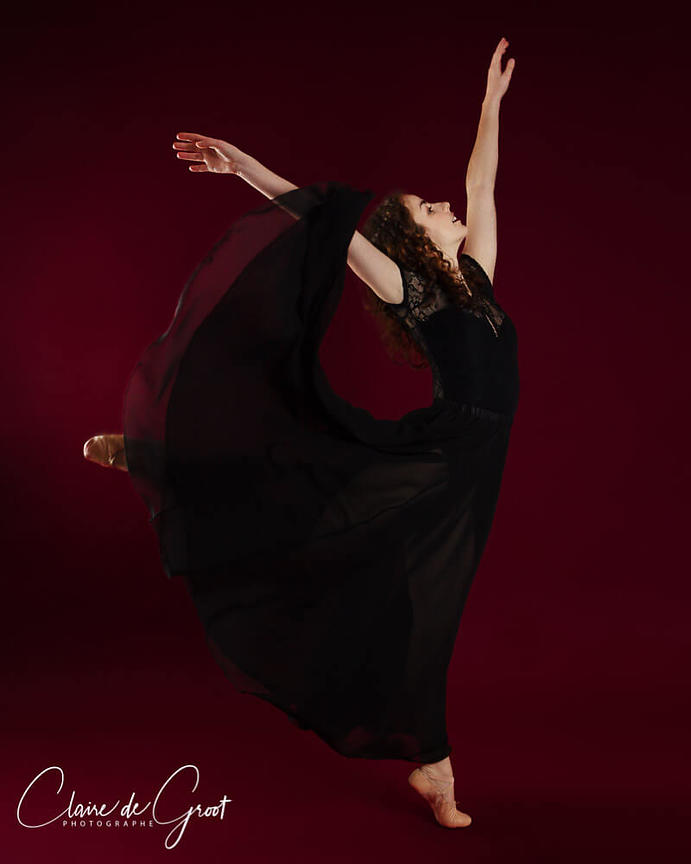 Elegant Ballet Studio Sports Portrait