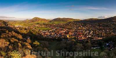 Church Stretton (Panorama)