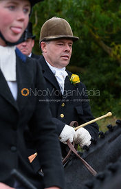 Graham Smith near Gartree Covert - Quorn Hunt Opening Meet 2016