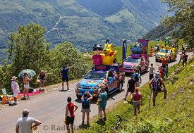 Haribo Vehicles in Pyrenees