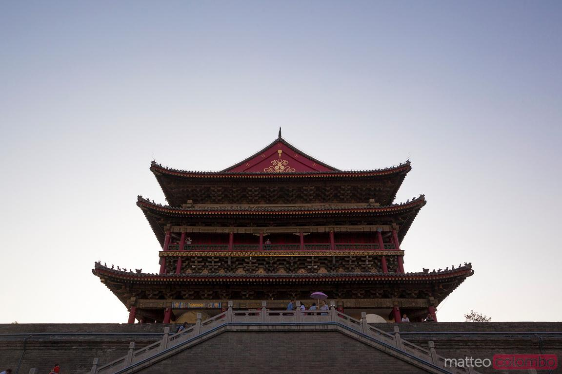 Drum tower in Xian, China