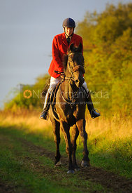 Hartley Crouch - The Cottesmore Hunt at Betts Barn 27/9