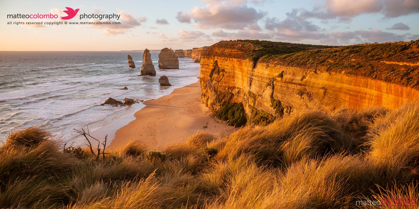 Twelve Apostles at sunset, Great Ocean Road, Australia