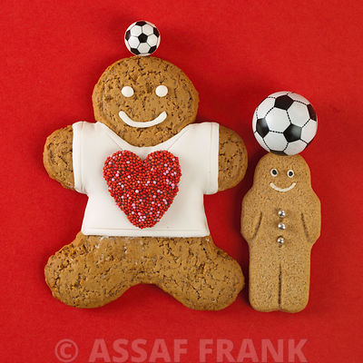 Football Gingerbread